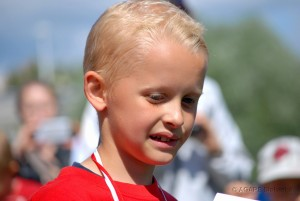 Grzegorz Wesołowski (Belgia) - najlepszy zawodnik