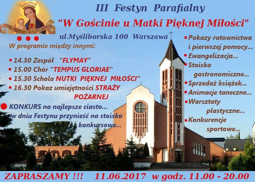 Plakat Festyn 2017